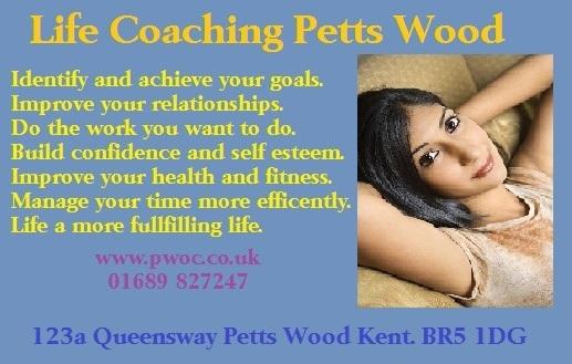 Life Coaching in Petts Wood