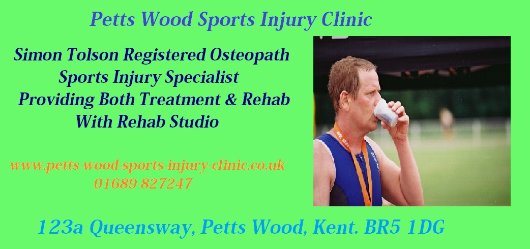 Sports Injury Clinic in Petts Wood