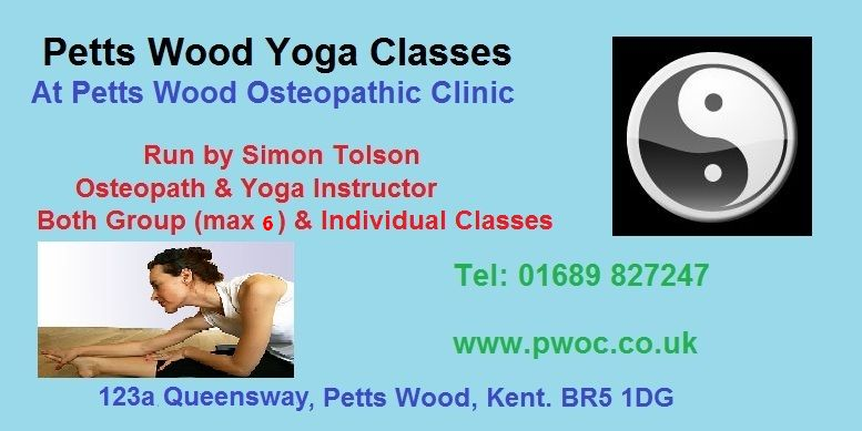 Yoga Classes in Petts Wood